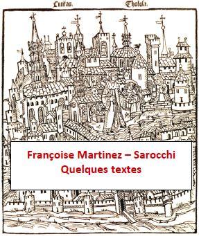 Françoise Martinez-Sarocchi Quelques textes